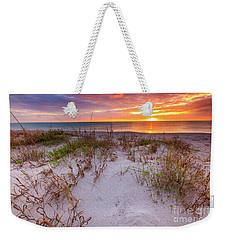 Sunset At Manisota Beach Weekender Tote Bag