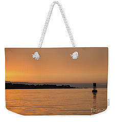 Sunset At Monterey Bay Weekender Tote Bag