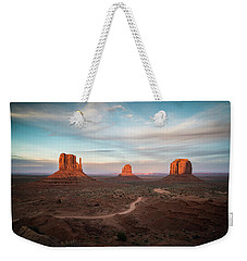 Sunset At Monument Valley Weekender Tote Bag
