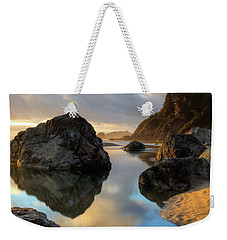 Sunset At Moonstone Weekender Tote Bag