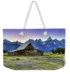 Sunset At Mormon Row Weekender Tote Bag