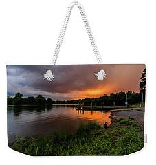 Sunset At Mountain Run Lake Weekender Tote Bag