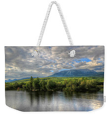 Sunset At Mt. Katahdin Weekender Tote Bag