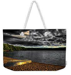 Sunset At Nicks Lake Weekender Tote Bag by David Patterson