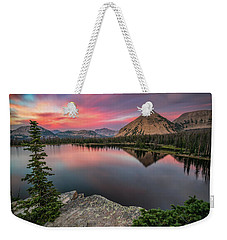 Sunset At Notch Lake Weekender Tote Bag