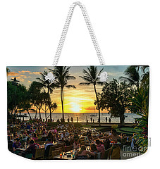 Sunset At Old Lahaina Luau #1 Weekender Tote Bag