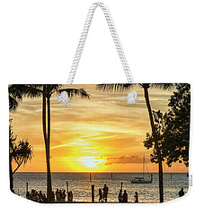 Sunset At Old Lahina Luau #2 Weekender Tote Bag