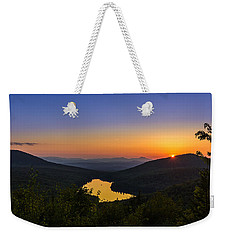 Sunset At Owls Head Weekender Tote Bag by Tim Kirchoff