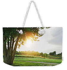 Sunset At Pearman Forest Weekender Tote Bag
