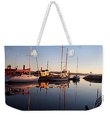 Sunset At Powell River Weekender Tote Bag