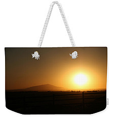 Sunset At Roswell New Mexico  Weekender Tote Bag