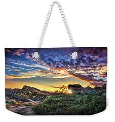 Sunset At Sage Ranch Weekender Tote Bag