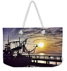 Sunset At Snoopy's Weekender Tote Bag