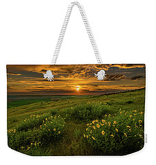 Sunset At Steptoe Butte Weekender Tote Bag
