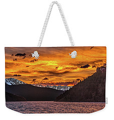 Sunset At Summit Cove And Summerwood June 17 Weekender Tote Bag