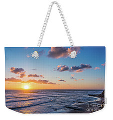 Sunset At Swami's Beach  Weekender Tote Bag