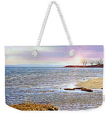 Sunset At The Beach - Tod's Point Weekender Tote Bag