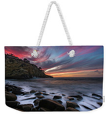 Sunset At The Cove Weekender Tote Bag