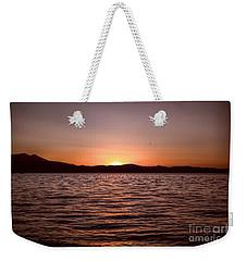 Sunset At The Lake 2 Weekender Tote Bag