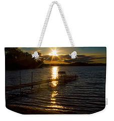 Sunset At The Lake Weekender Tote Bag
