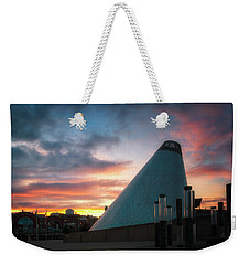 Sunset At The Museum Of Glass Weekender Tote Bag