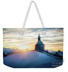 Sunset At The Top Weekender Tote Bag
