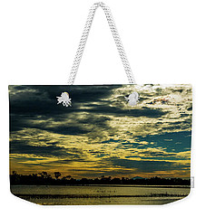 Sunset At The Wetlands Weekender Tote Bag