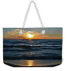 Sunset At Wasaga Beach June 21-2017  Weekender Tote Bag