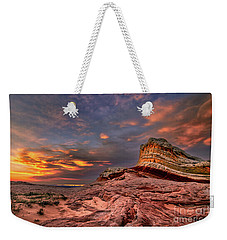 Sunset At White Pocket Weekender Tote Bag