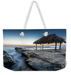 Sunset At Windansea Beach Shack Weekender Tote Bag