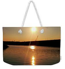 Sunset At Wolf Creek Dam Weekender Tote Bag