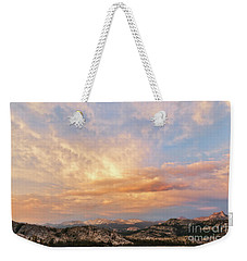 Sunset At Yosemite Weekender Tote Bag