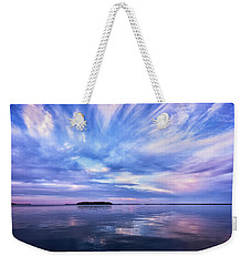 Sunset Awe  Signed Weekender Tote Bag