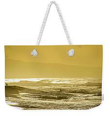 Sunset Beach Aglow  Weekender Tote Bag