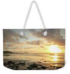 Sunset Beach Delight Weekender Tote Bag