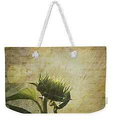 Weekender Tote Bag featuring the photograph Sunset Beginnings by Melinda Ledsome