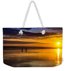 Sunset Bike Ride Weekender Tote Bag