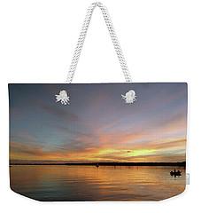 Sunset Blaze Weekender Tote Bag