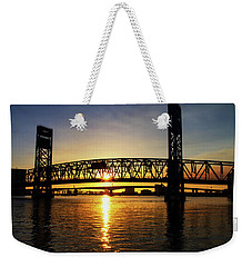 Sunset Bridge 1 Weekender Tote Bag