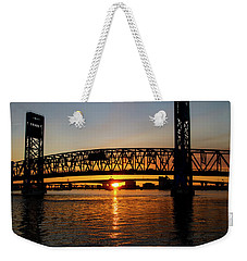 Sunset Bridge 5 Weekender Tote Bag