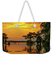 Sunset Brilliance Weekender Tote Bag