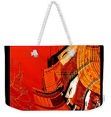 Sunset Building Weekender Tote Bag by Thibault Toussaint