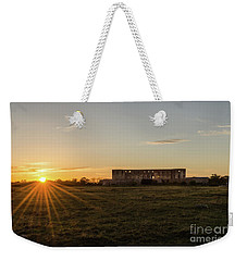 Sunset By Old Castle Ruin Weekender Tote Bag