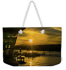 Sunset By The Convention Centre Weekender Tote Bag