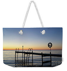 Sunset By The Old Bath Pier Weekender Tote Bag