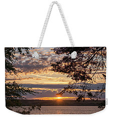 Sunset Caressed By Tree Branch Weekender Tote Bag