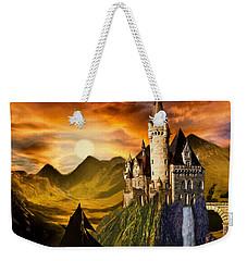 Sunset Castle Weekender Tote Bag