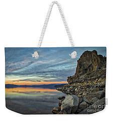 Sunset Cave Rock 2015 Weekender Tote Bag
