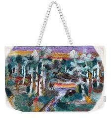 Sunset Weekender Tote Bag by Christine Lathrop