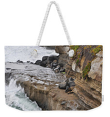 Sunset Cliffs San Diego Portrait Weekender Tote Bag